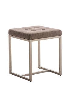 Sitzhocker Barci STOFF grau