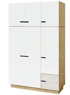 Radis Extra hoher Kleiderschrank INU 3 Türen
