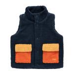 TINY COTTONS TINY COTTONS SALE sherpa vest bodywarmer