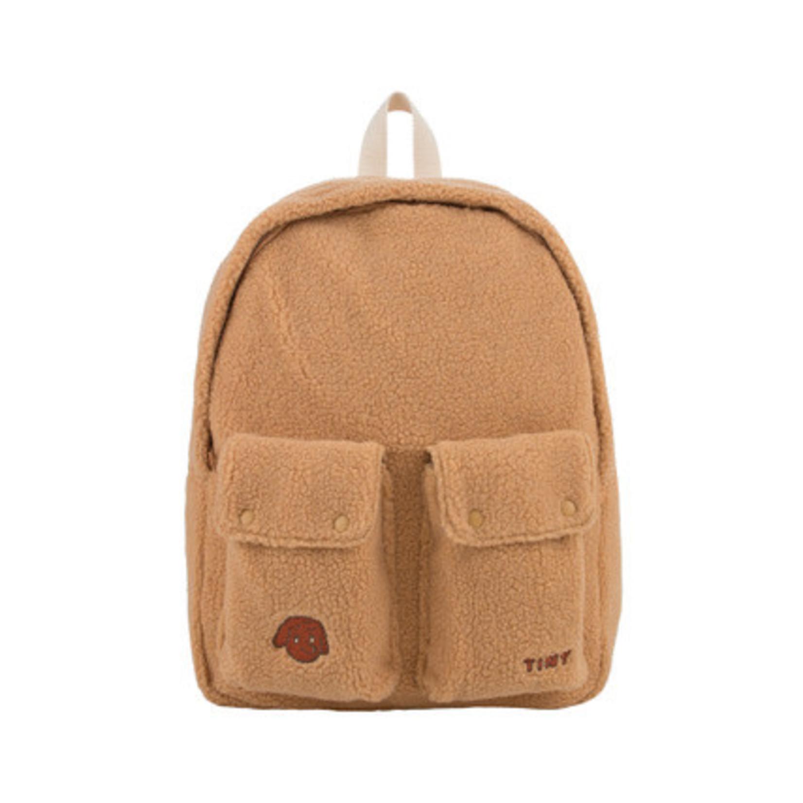 TINY COTTONS TINY COTTONS SALE Tiny dog big sherpa backpack