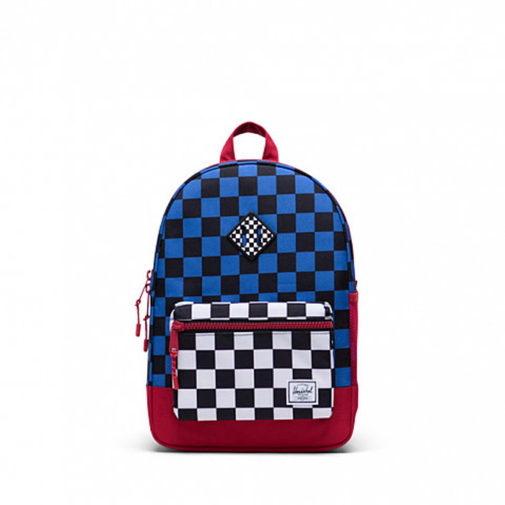 HERSCHEL HERSCHEL-Large-heritage RED-BLUE/ check L