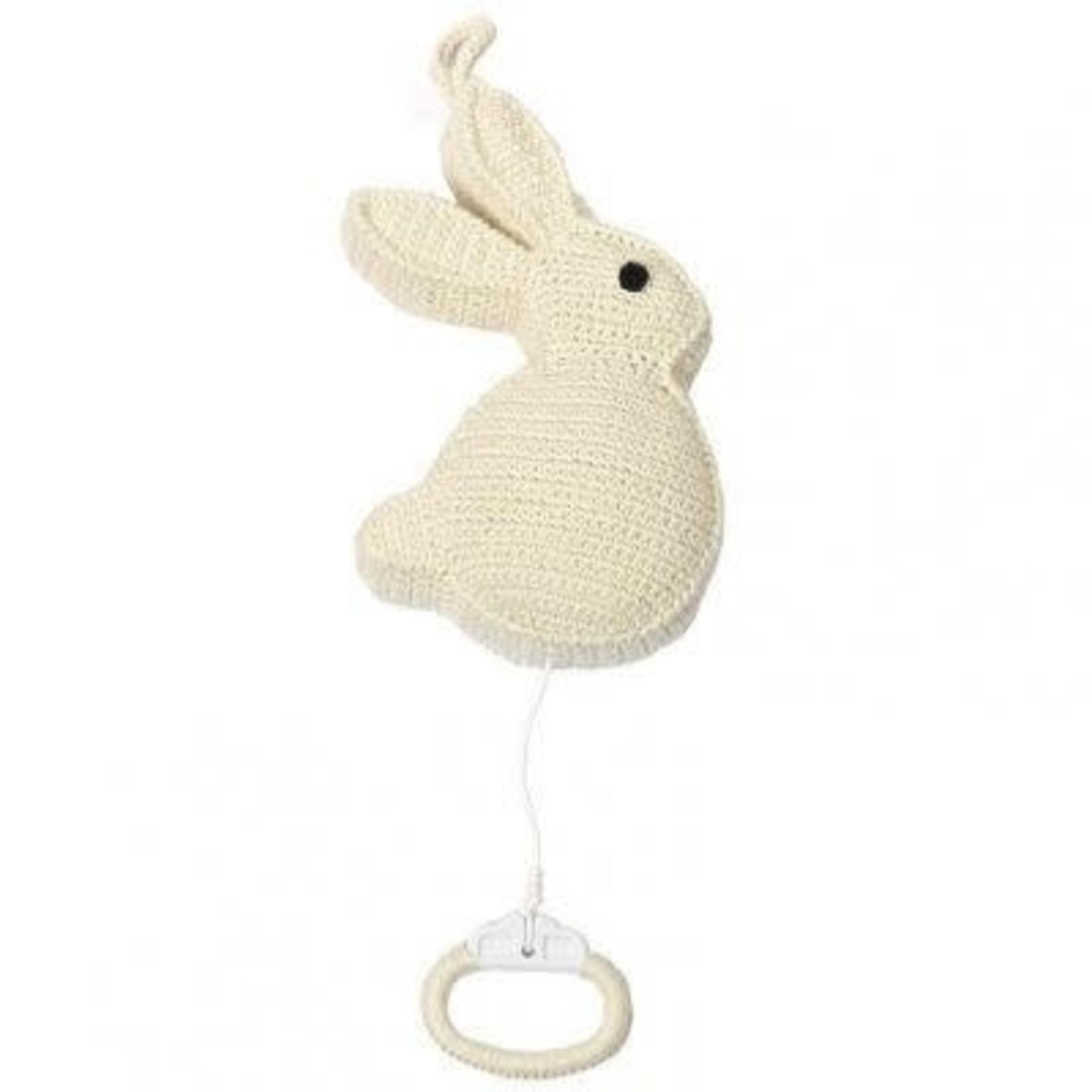 ANNE CLAIRE PETIT ACP konijn muziekmobiel