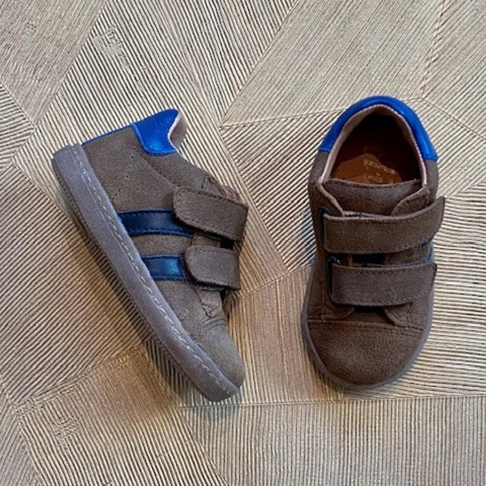 CLIC CLIC* flex sneaker klittenband taupe