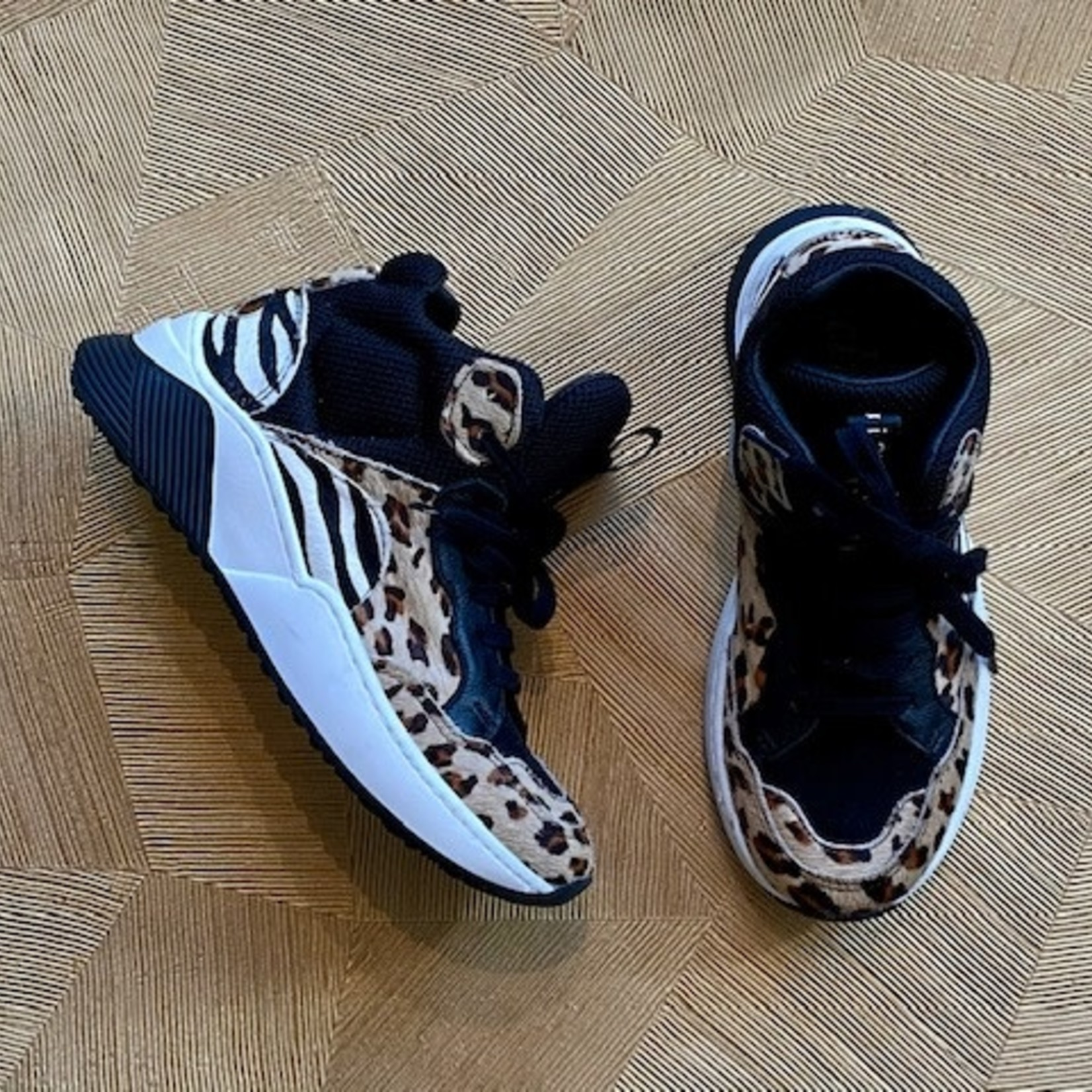 CLIC CLIC  sneaker panter/zebra