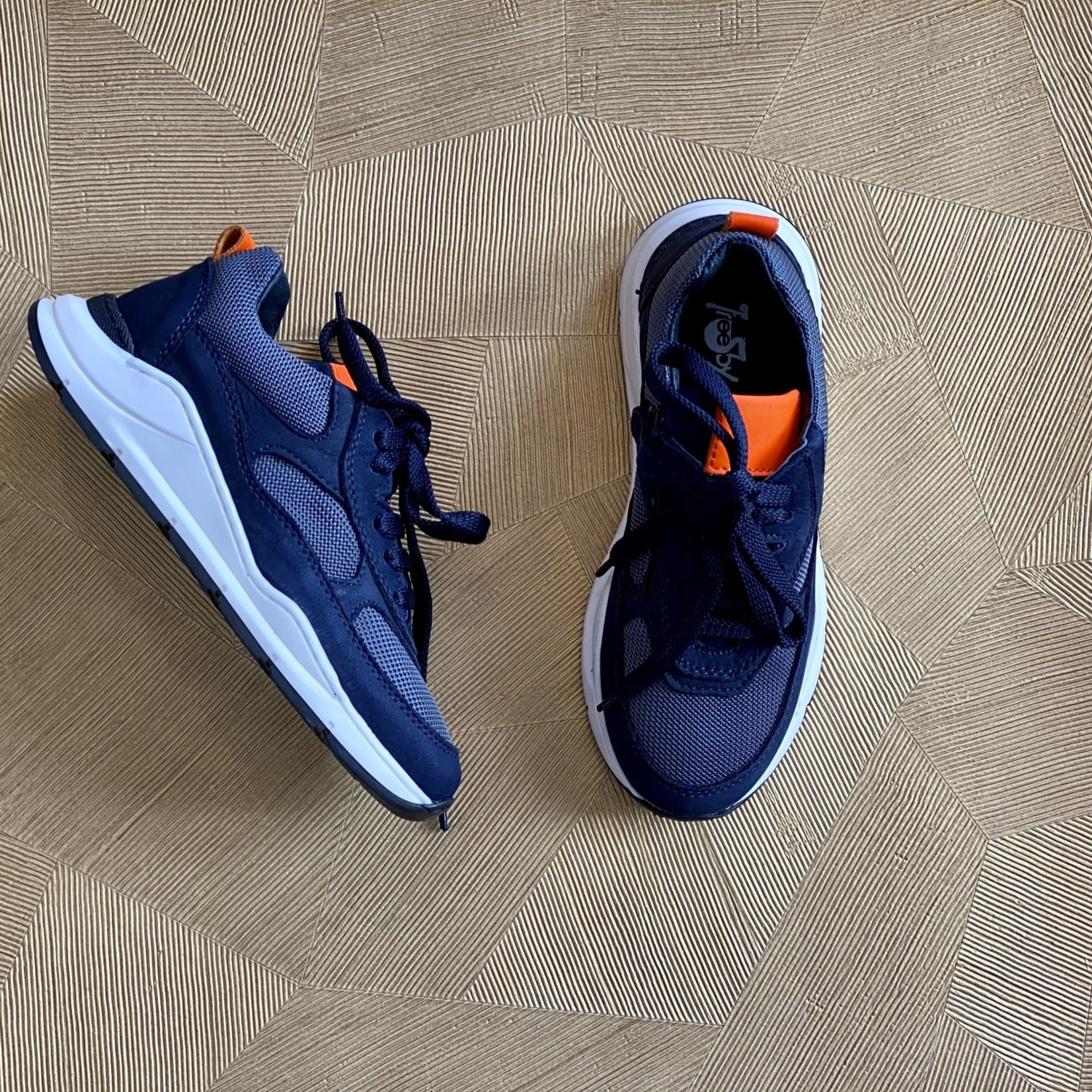 FREESBY FREESBY runner veter NAVY/GREY