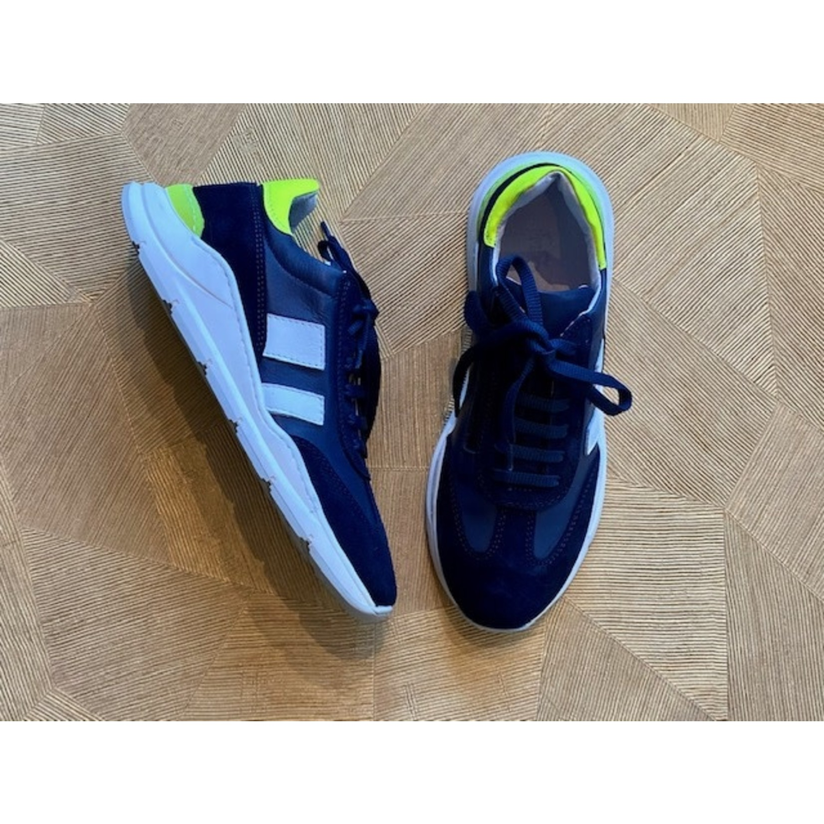 FREESBY FREESBY outlet runner veter en rits NAVY/yellow