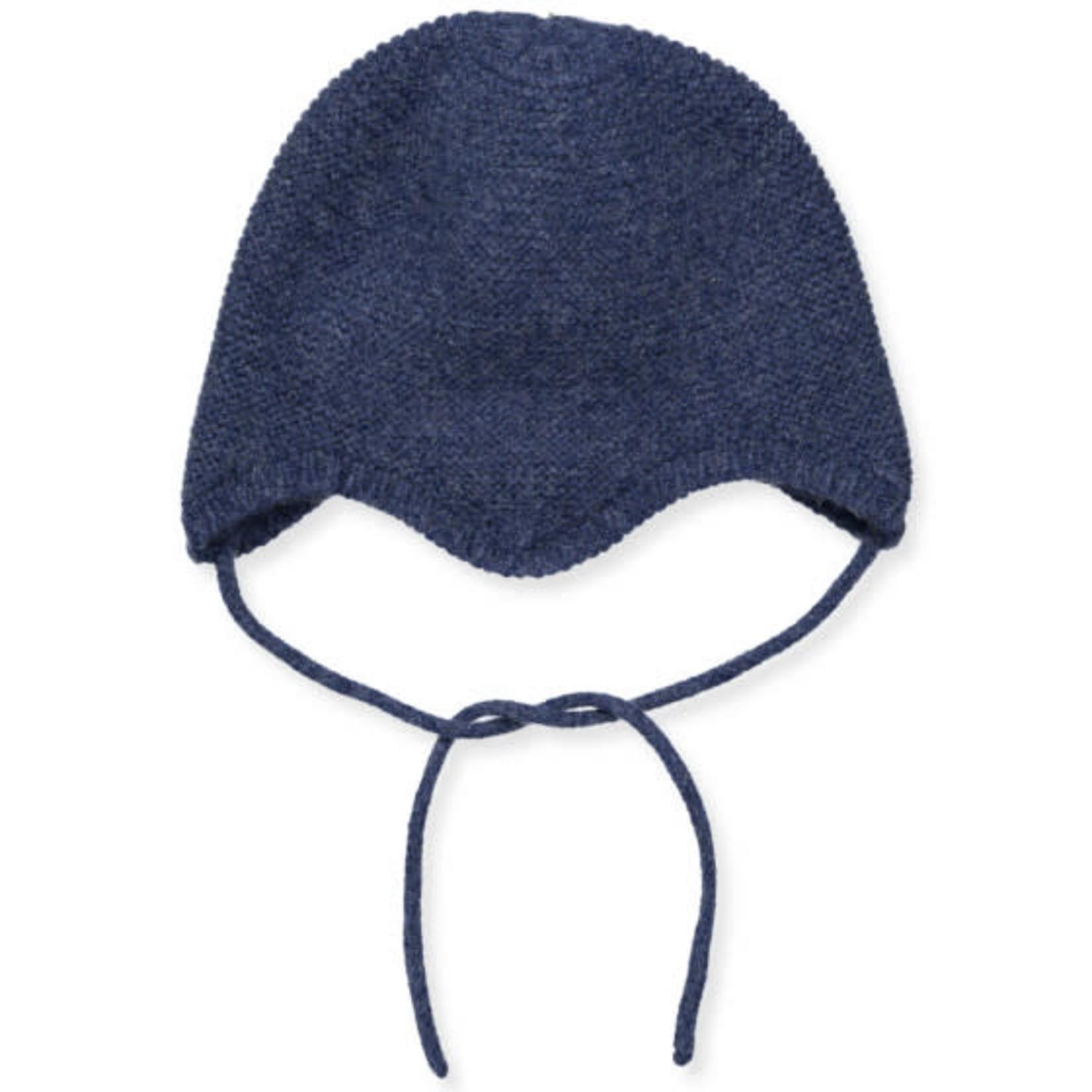 MP DENMARK MP DENMARK muts wol+cashmere blauw