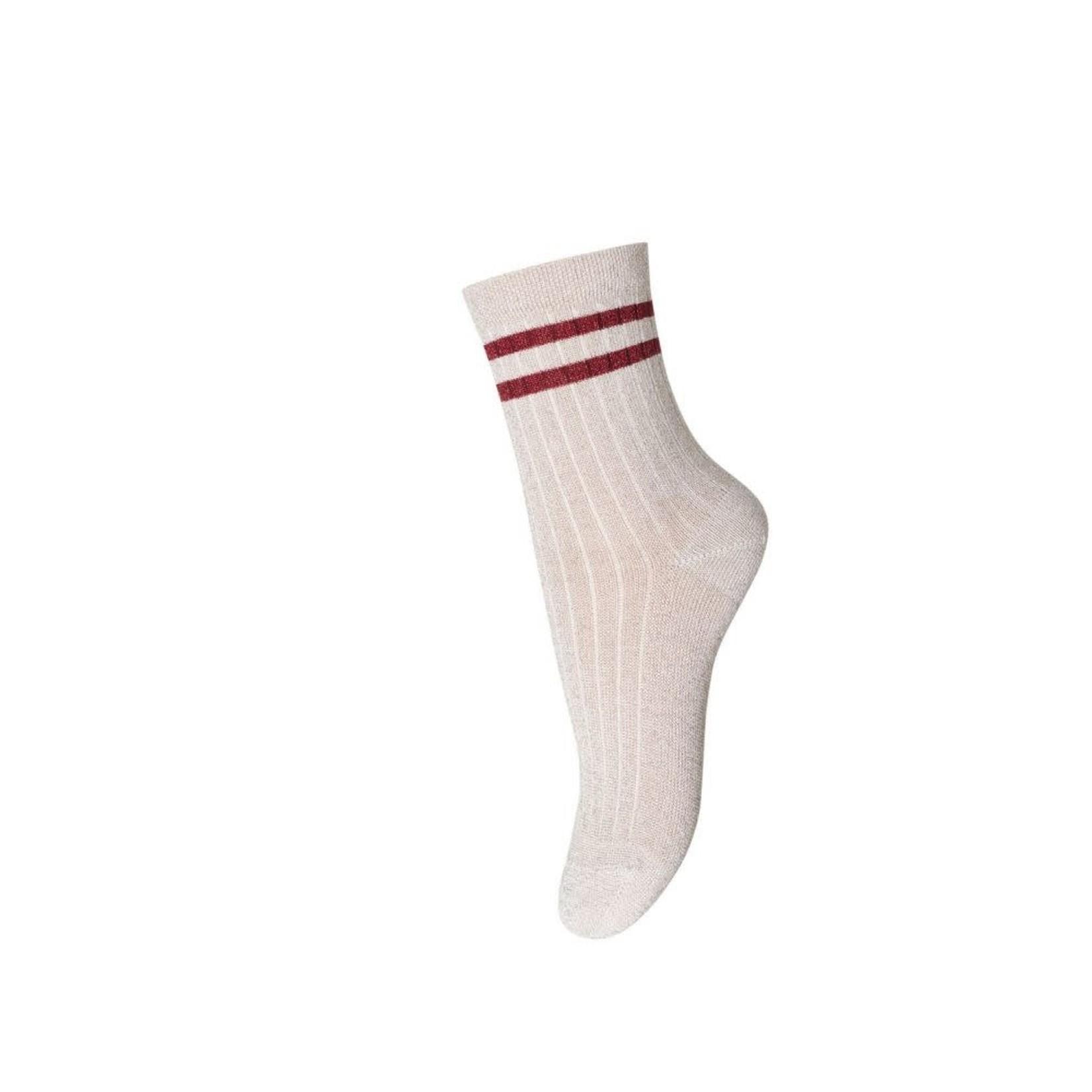 MP DENMARK MP DENMARK sokken sporty nude