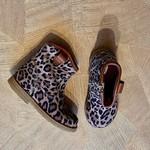 BO-BELL BO-BELL Ally suède laars spekzool Leopard