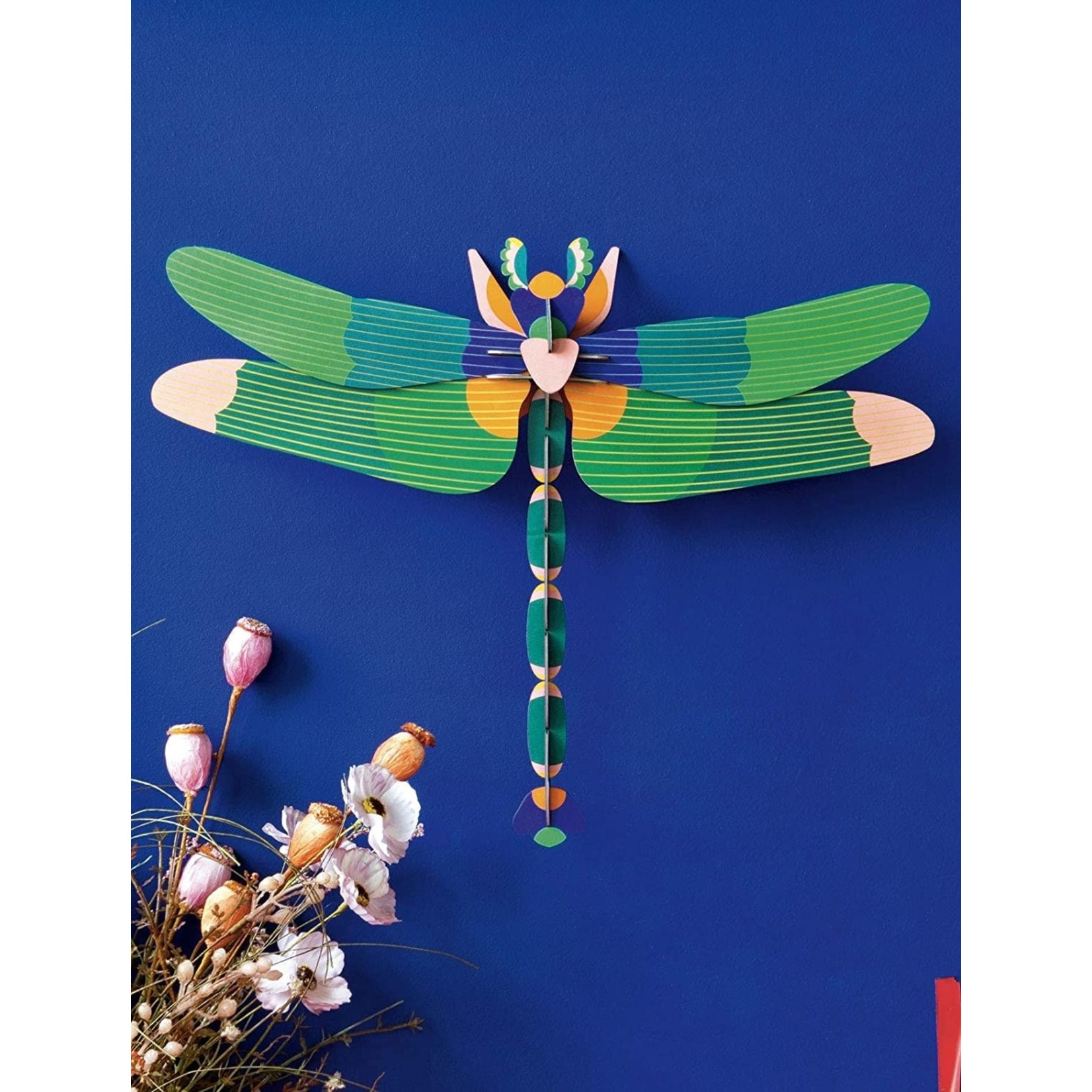 STUDIO ROOF STUDIO ROOF -wall decoration-Giant dragonfly green