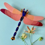 STUDIO ROOF STUDIO ROOF -wall decoration-Gianni dragonfly pink