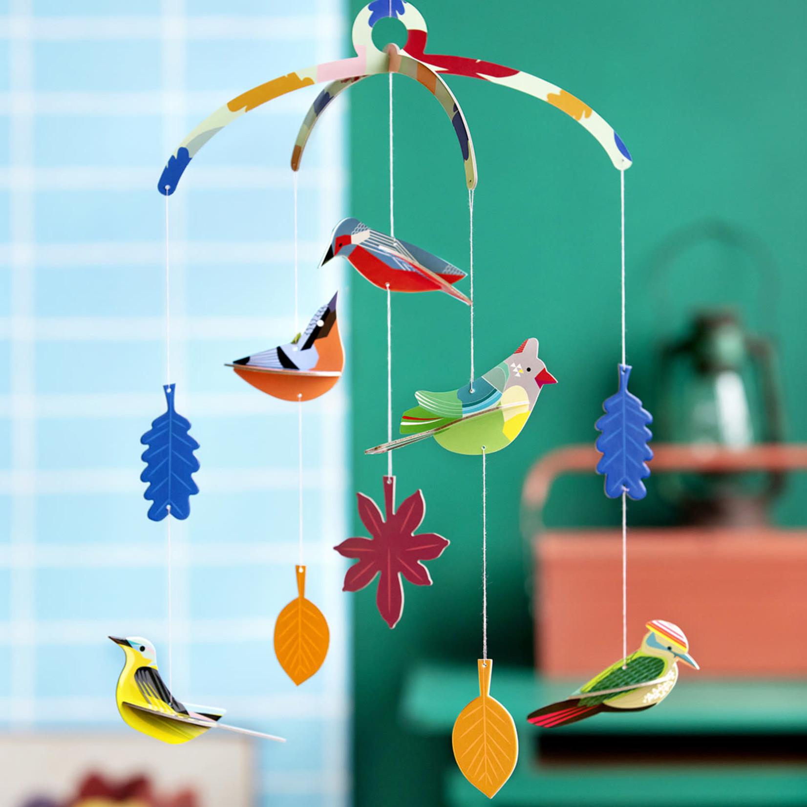 STUDIO ROOF STUDIO ROOF -wall decoration garden birds mobile