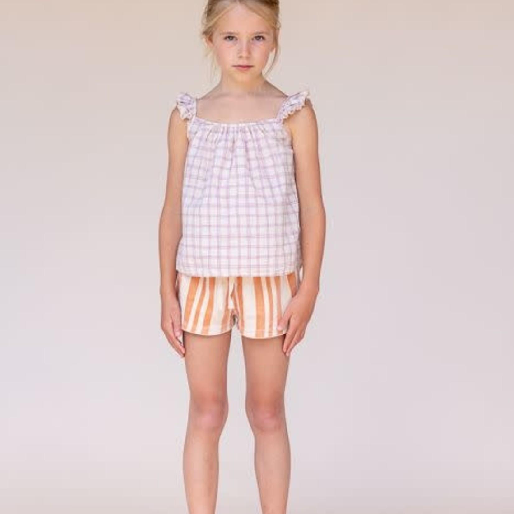 LONG LIVE THE QUEEN LLTQ NEW shorts velours orange