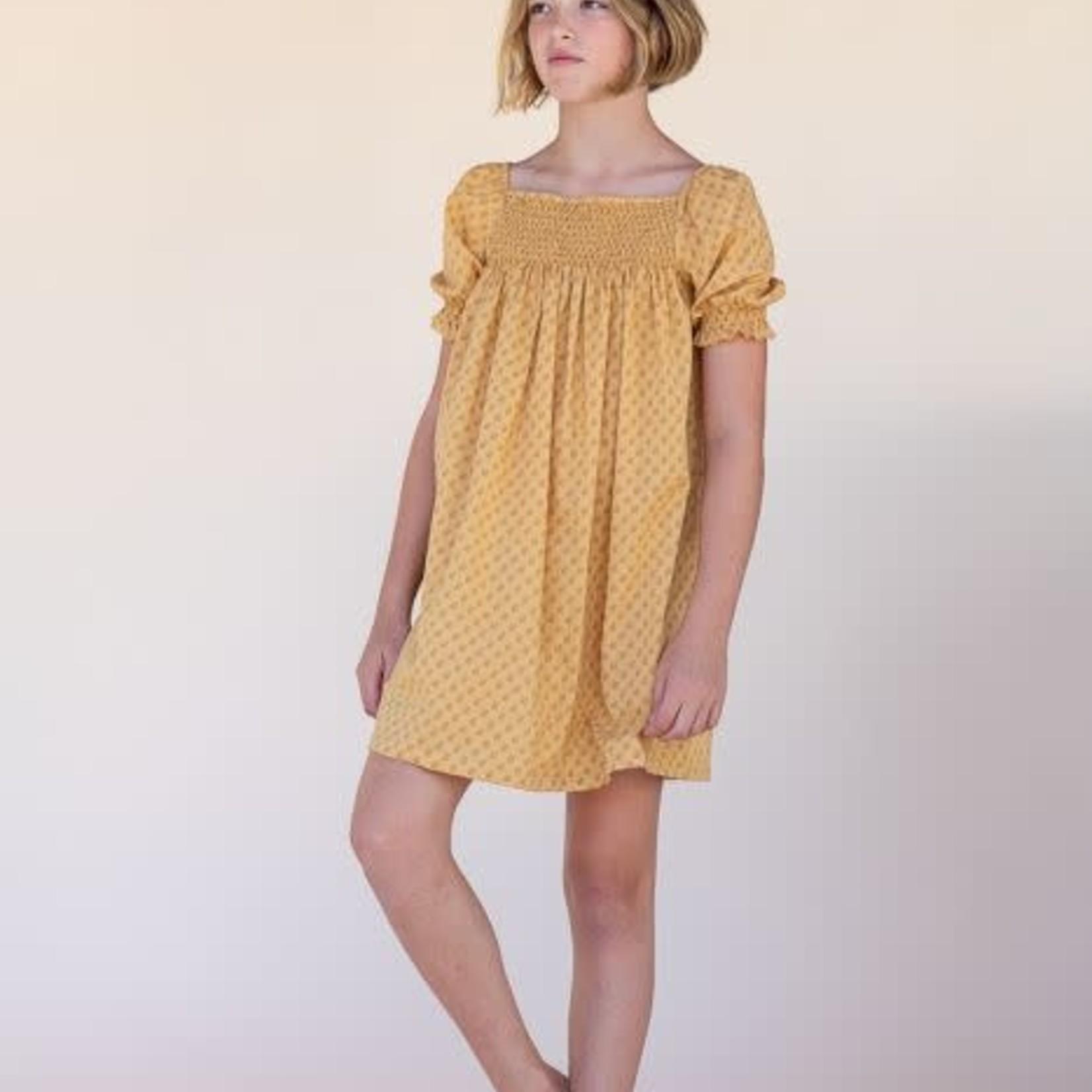 LONG LIVE THE QUEEN LLTQ  NEW babydoll dress yellow