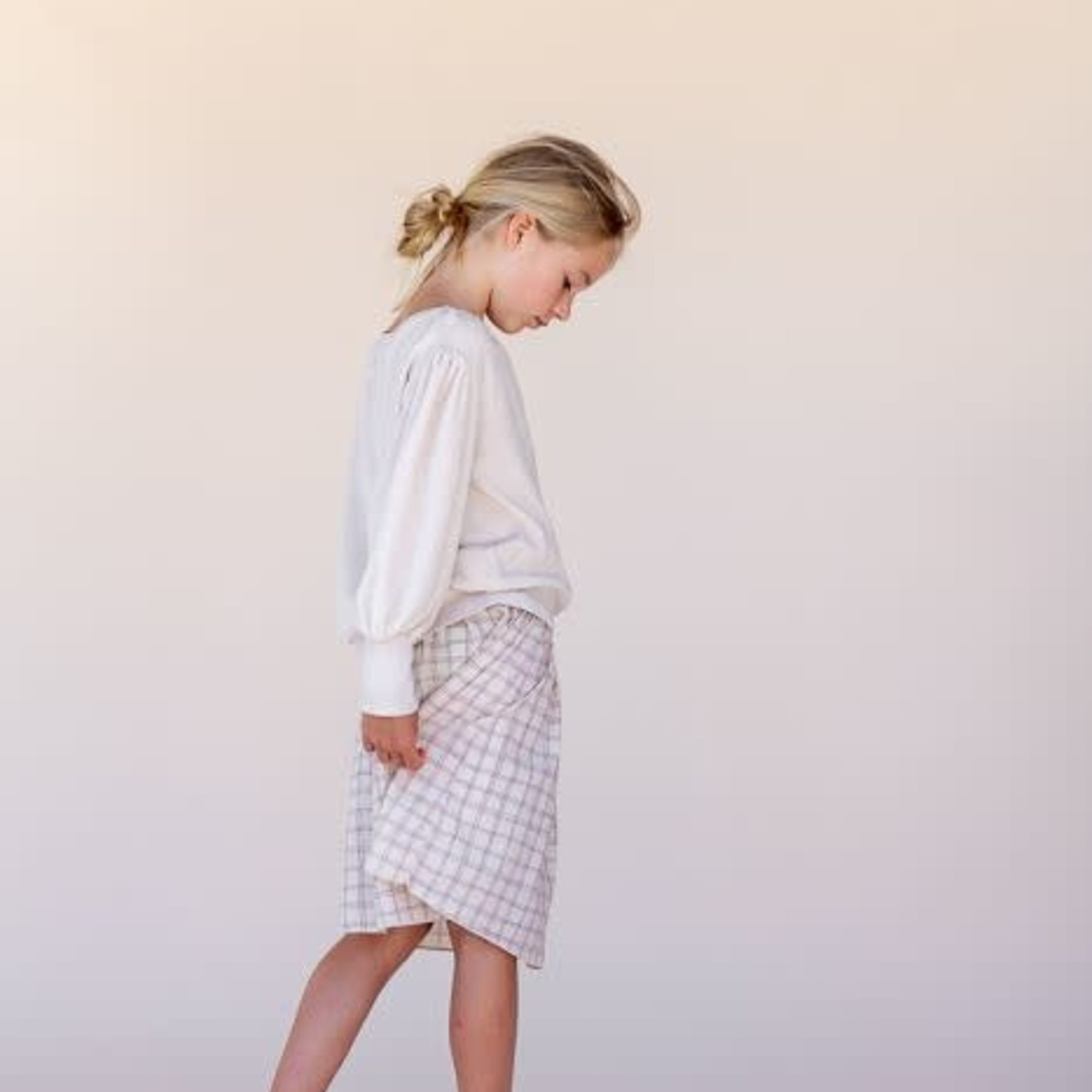 LONG LIVE THE QUEEN LLTQ NEW skirt purple check