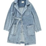 LONG LIVE THE QUEEN LLTQ NEW denim workcoat