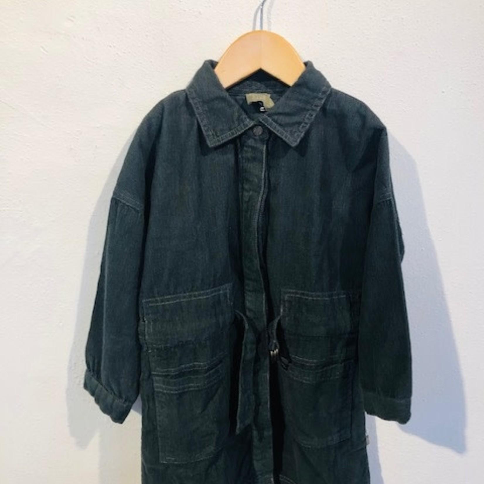 Koel 4 Kids KIDS outlet case jurk rib groen