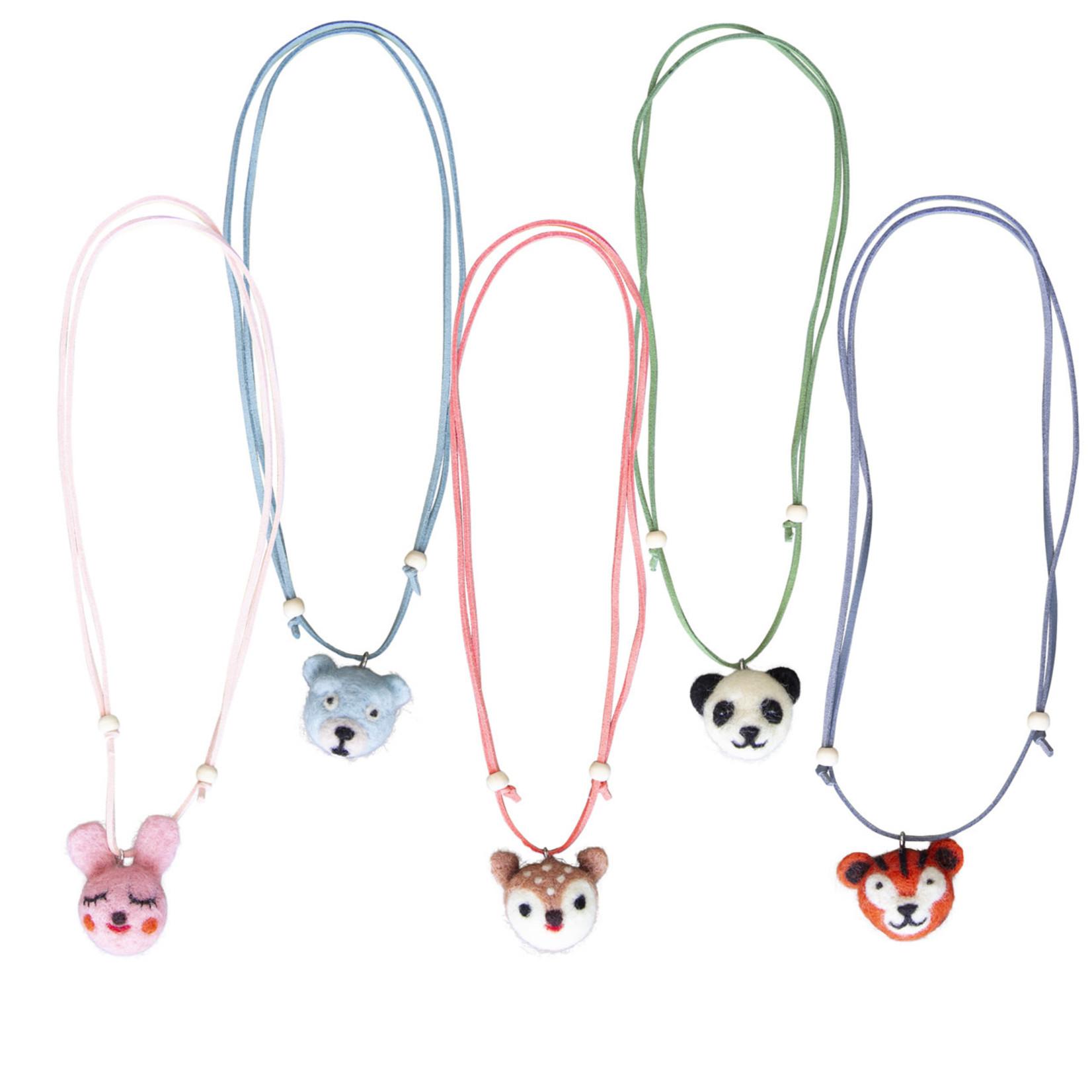 GLOBAL AFFAIRS GLOBAL AFFAIRS necklace  bear