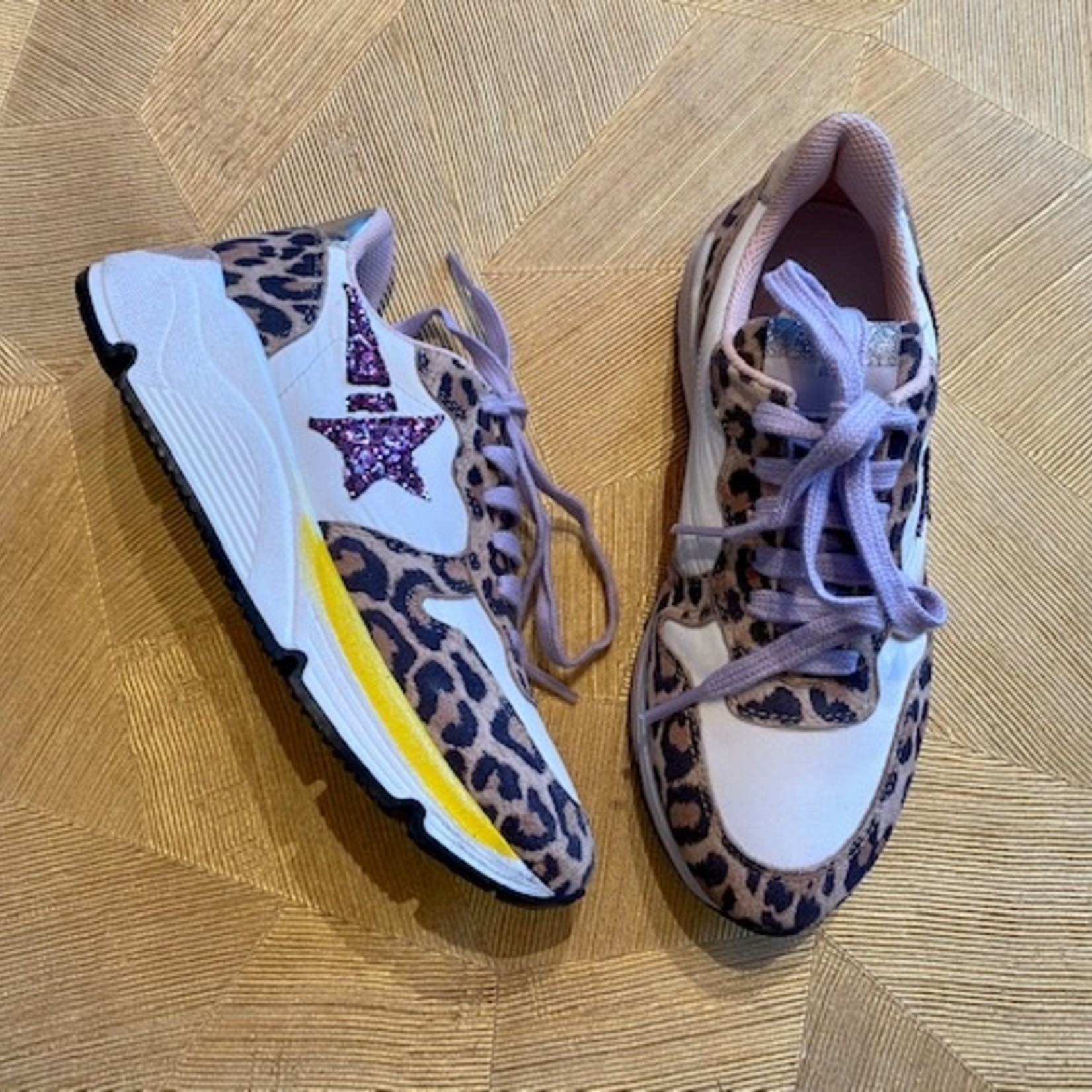 Clic CLIC sneaker veter met PANTER