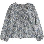 EMILE ET IDA EMIL & IDA outlet  blouse bloem blauw