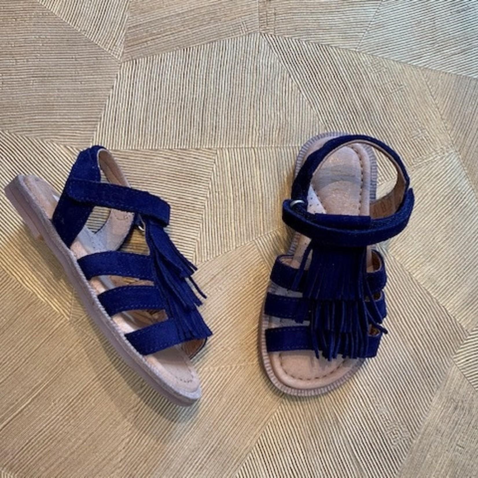 CLIC CLIC sandaal franjes NAVY