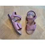 CLIC CLIC  sandaal vlecht NASSAU-ROZE