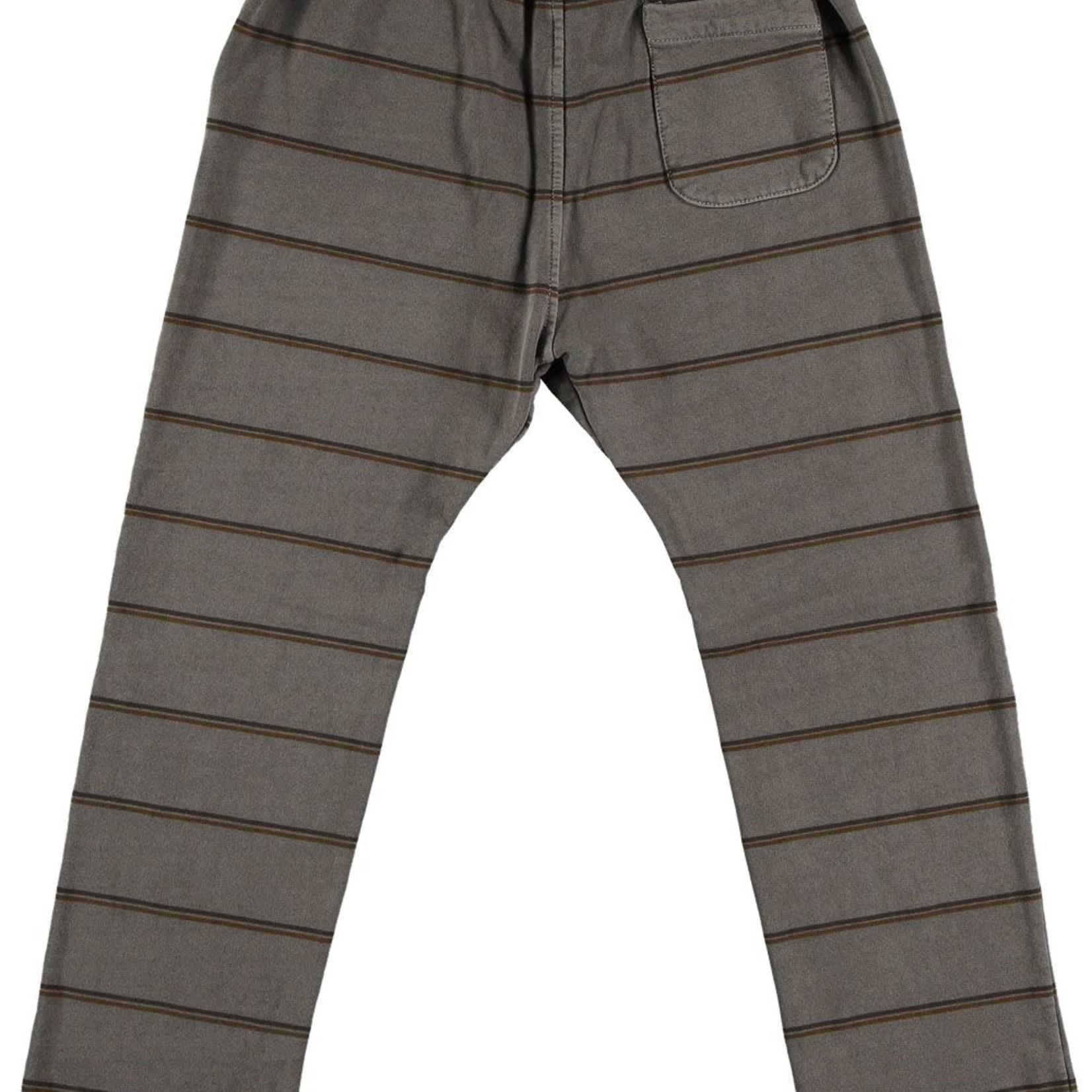 BONMOT BONMOT outlet broek streep grijs