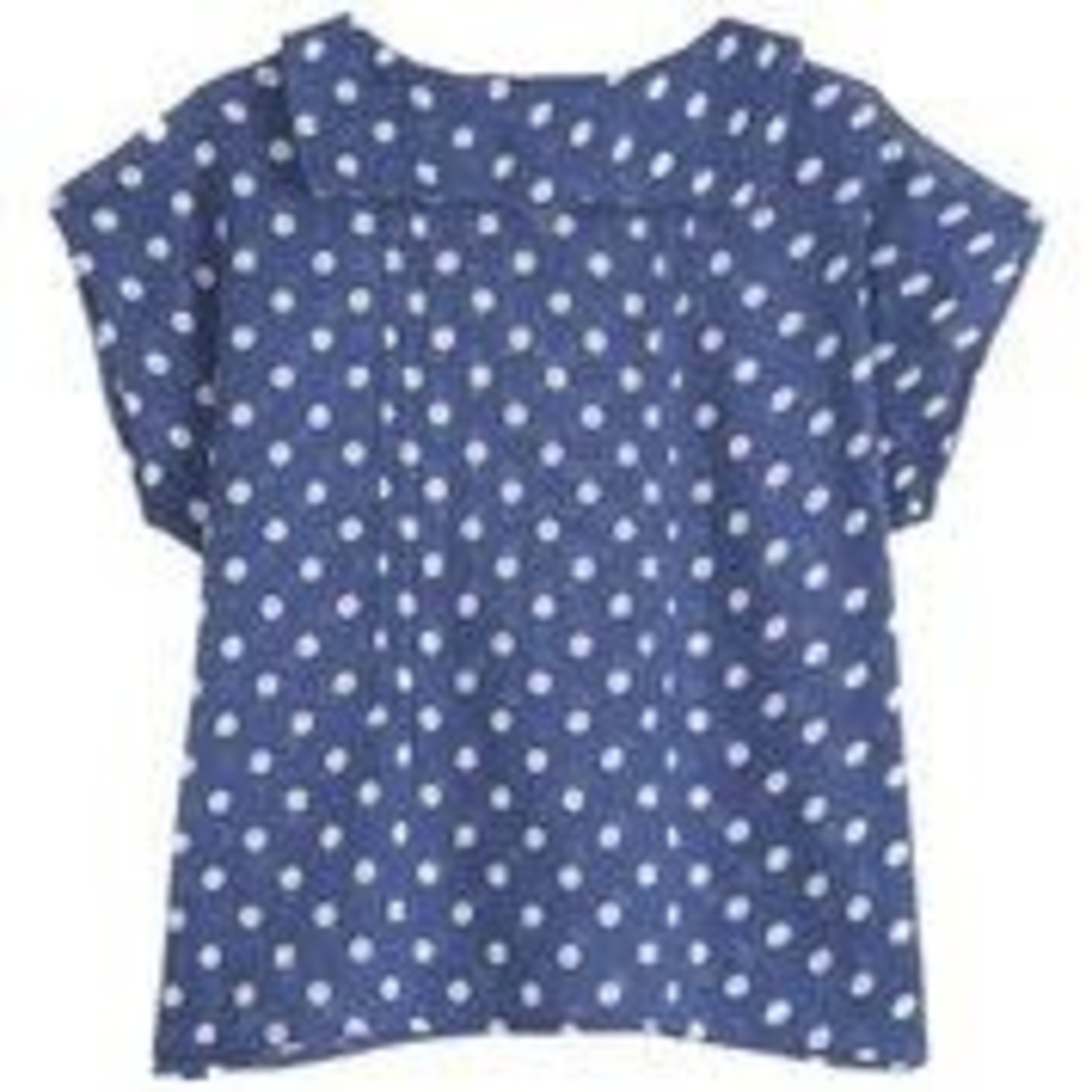 EMILE ET IDA EMILE & IDA NEW blouse POIS BLUE