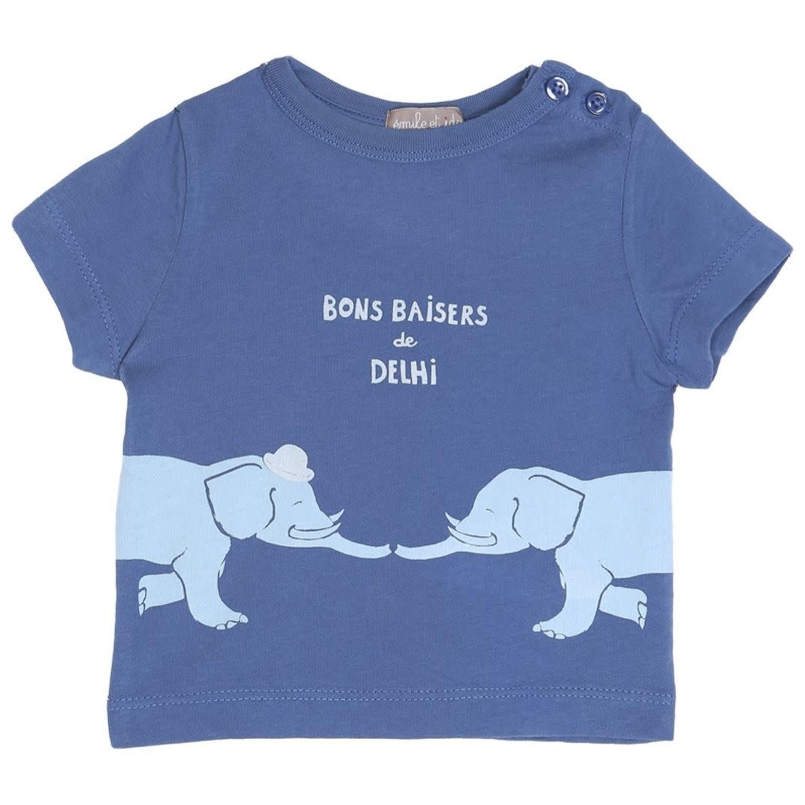EMILE ET IDA EMILE & IDA NEW t-shirt OCEAN