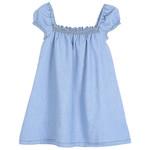 EMILE ET IDA EMILE & IDA NEW robe jurk BLUE smock