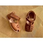 BISGAARD sandaal chloe  COGNAC