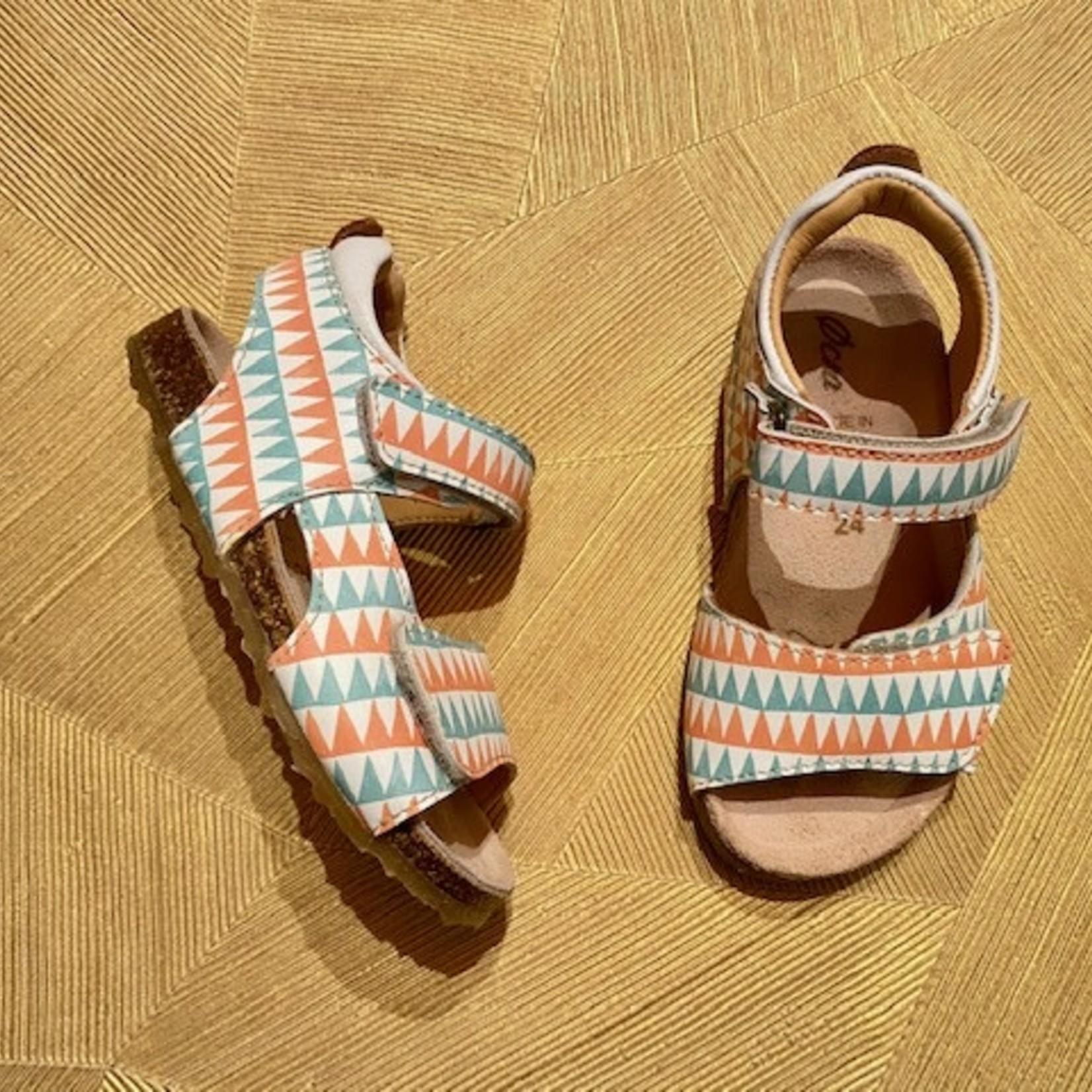 OCRA OCRA sandaal klittenband TRIANGEL