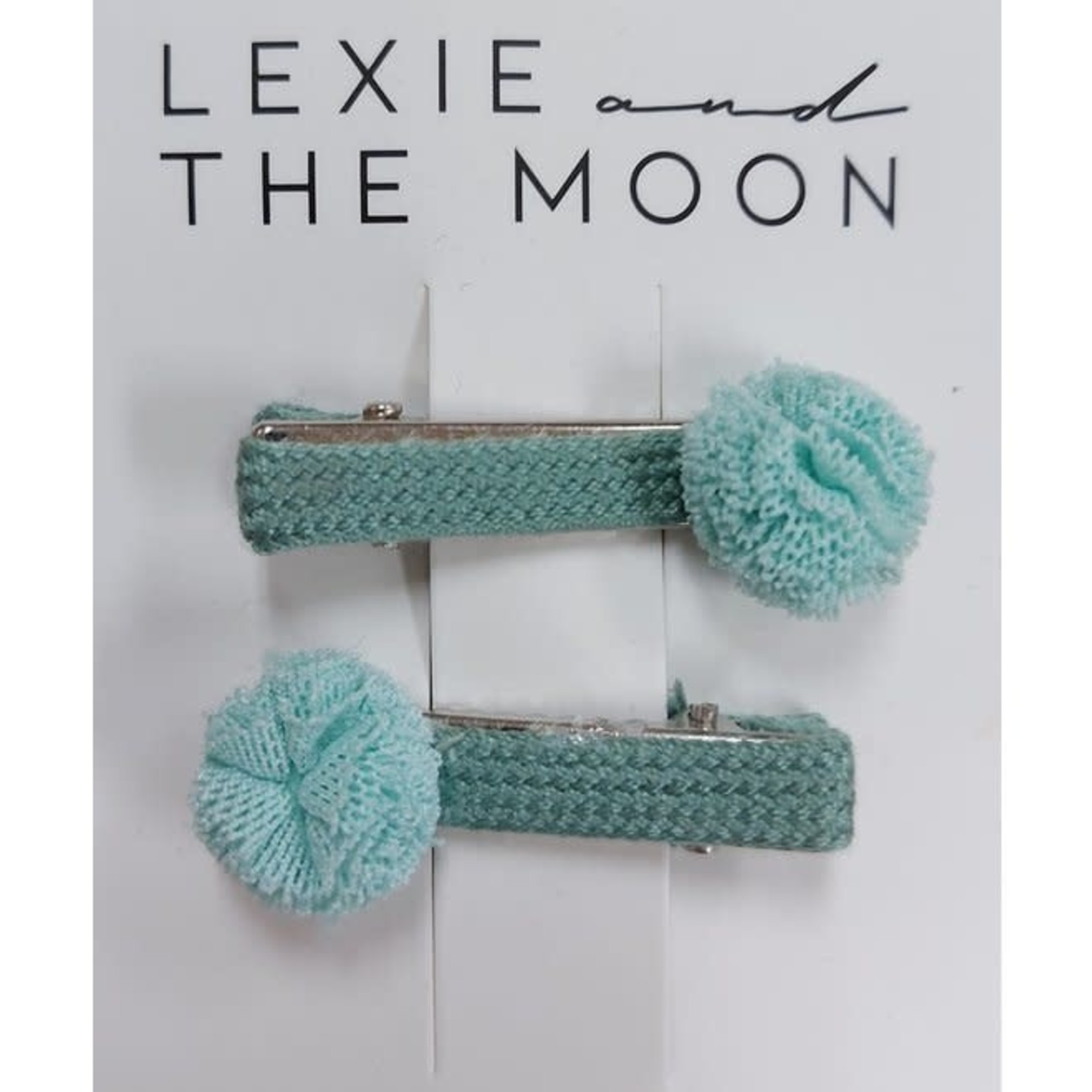 LEXIE AND THE MOON LEXIE AND THE MOON haarclips  mini pompon