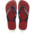 HAVAIANAS HAVAIANAS slipper Brasil logo RED