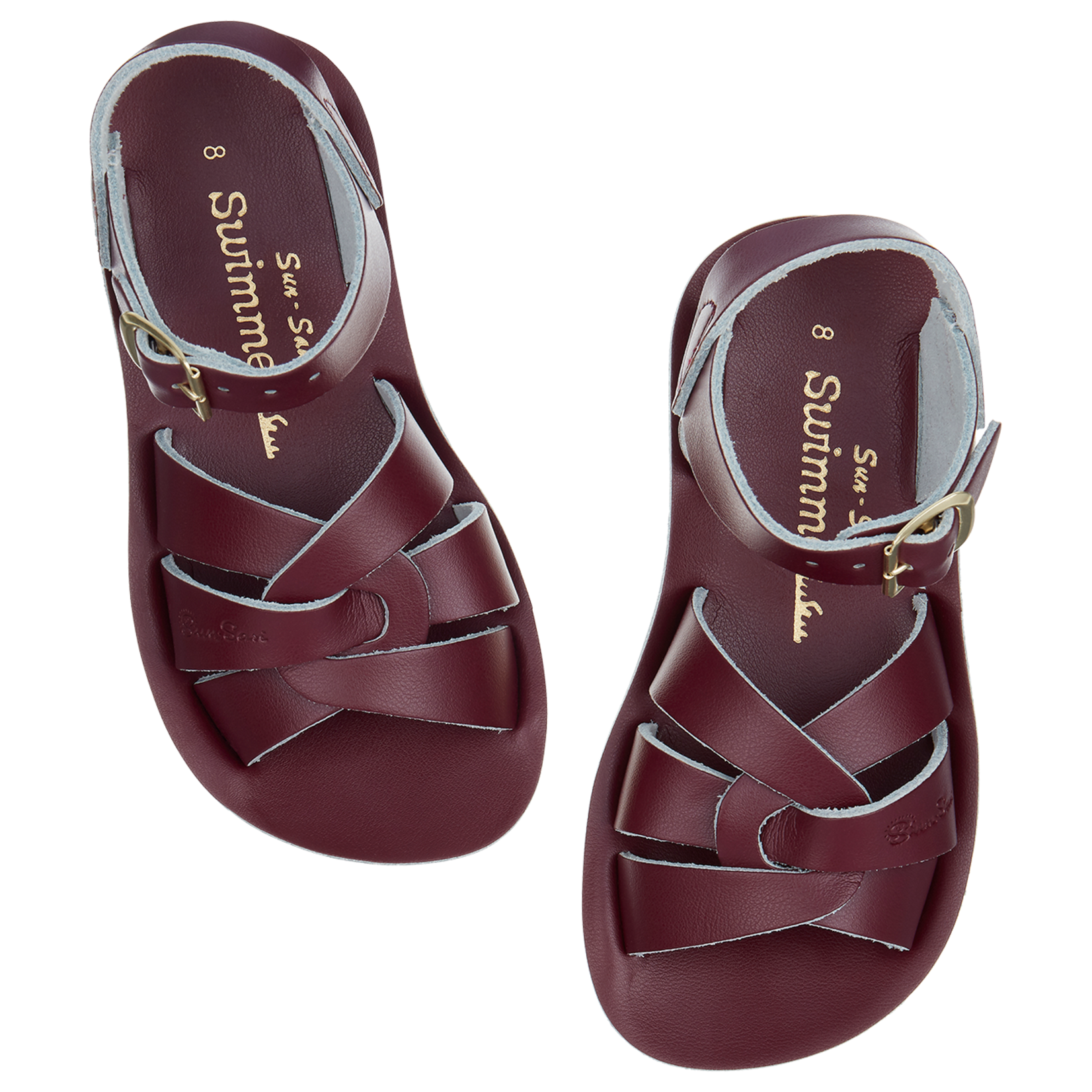 SALTWATERSANDALS SALT WATER swimmer CLARET