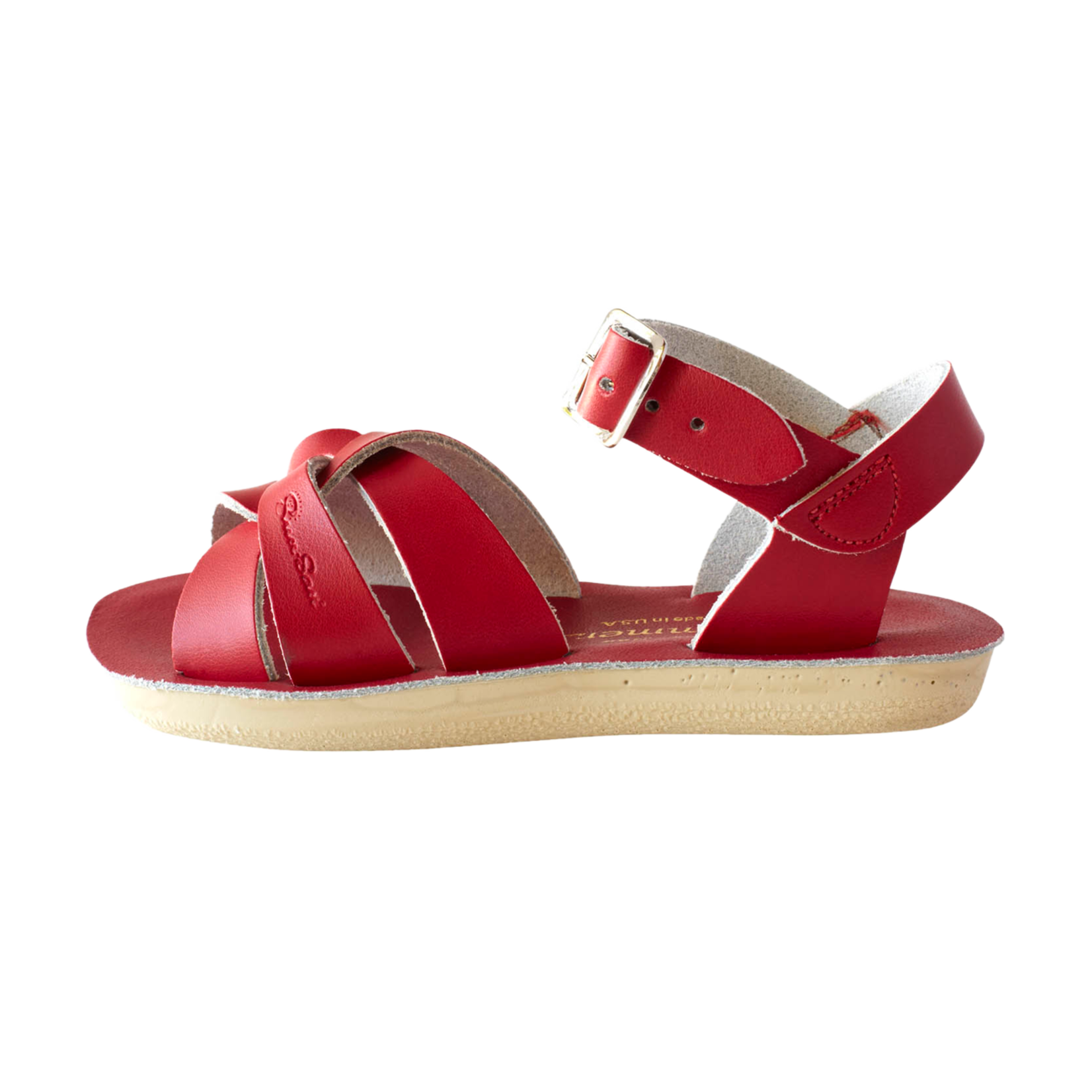 SALTWATERSANDALS SALT WATER swimmer RED