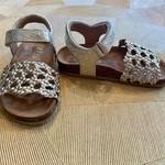 CLIC CLIC sandaal gevlochten klittenband ORO