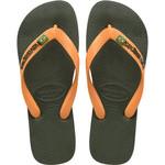 HAVAIANAS HAVAIANAS slippers brasil logo  GREEN