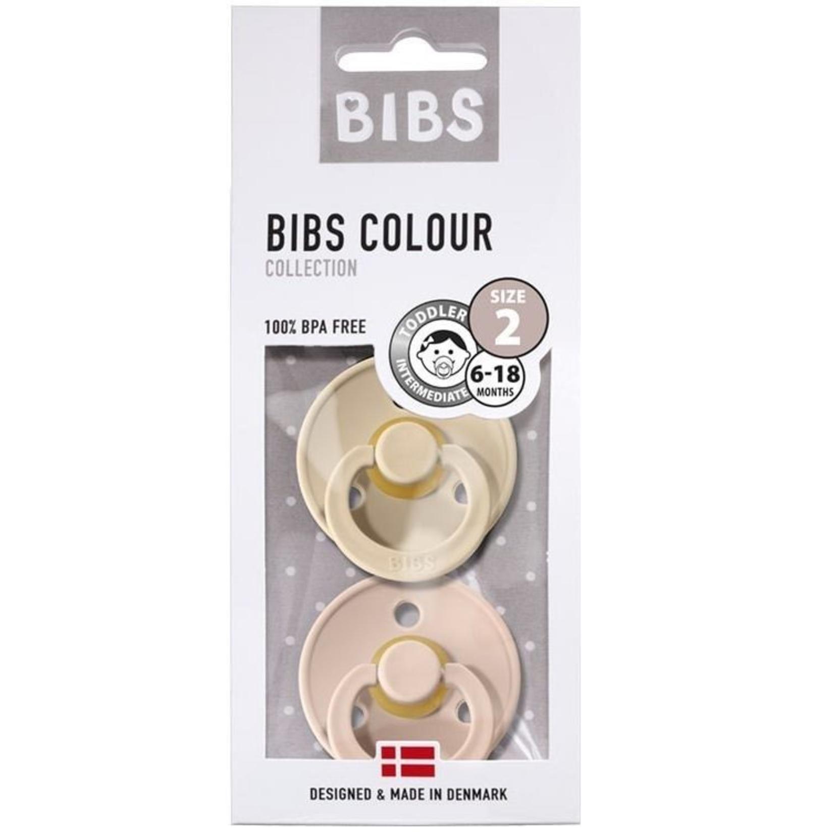 BIBS BIBS spenen VANILLA/BLUSH