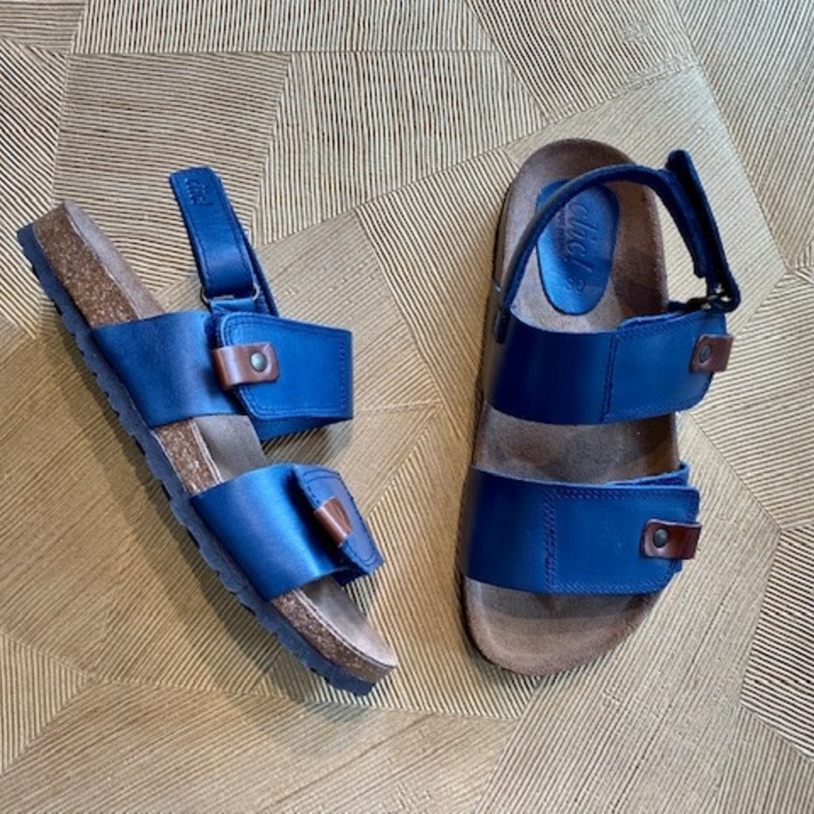 CLIC CLIC sandaal klittenband BLUE
