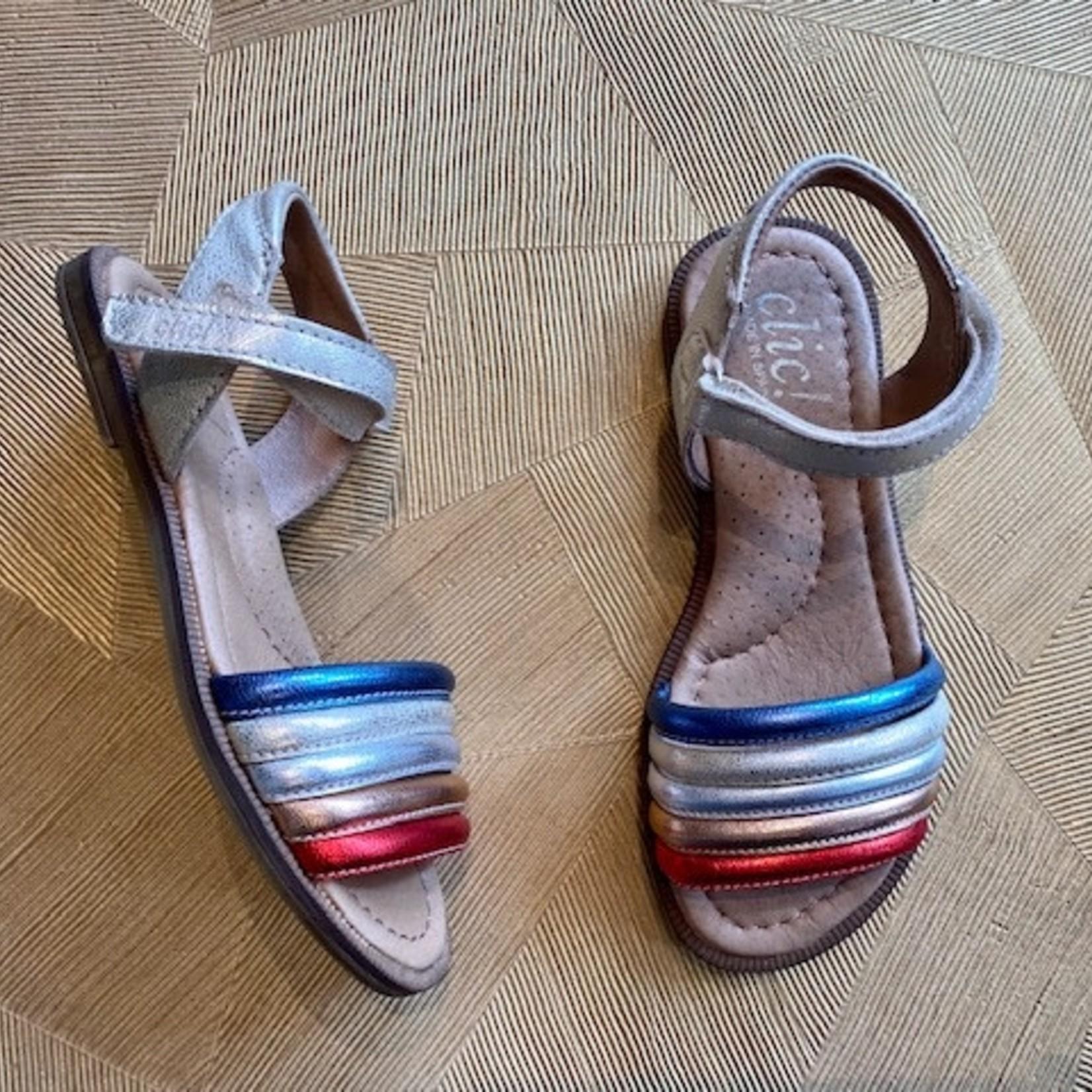 CLIC CLIC sandaal metal-BANDJES