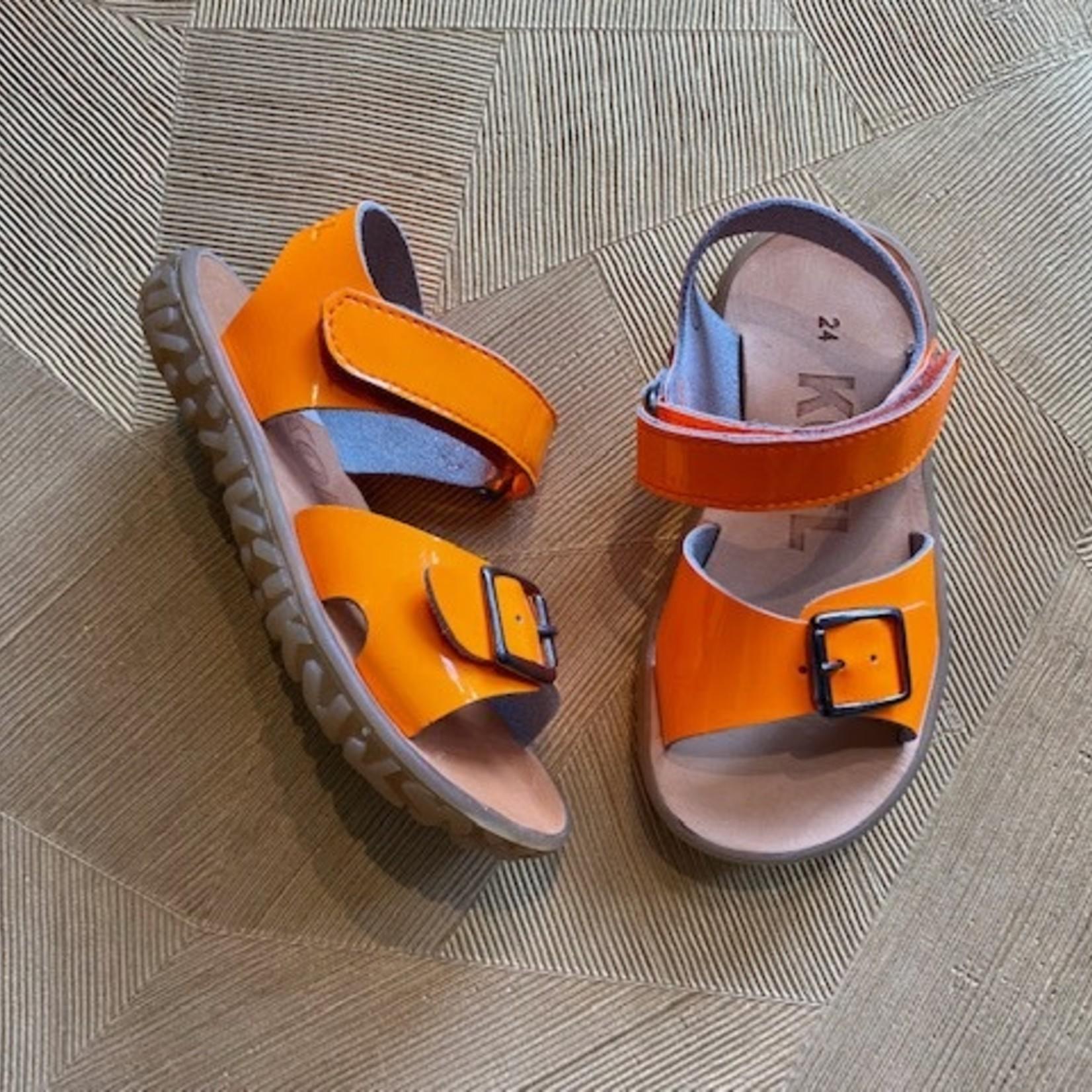 KOEL 4 KIDS KOEL sandaal  ORANJE