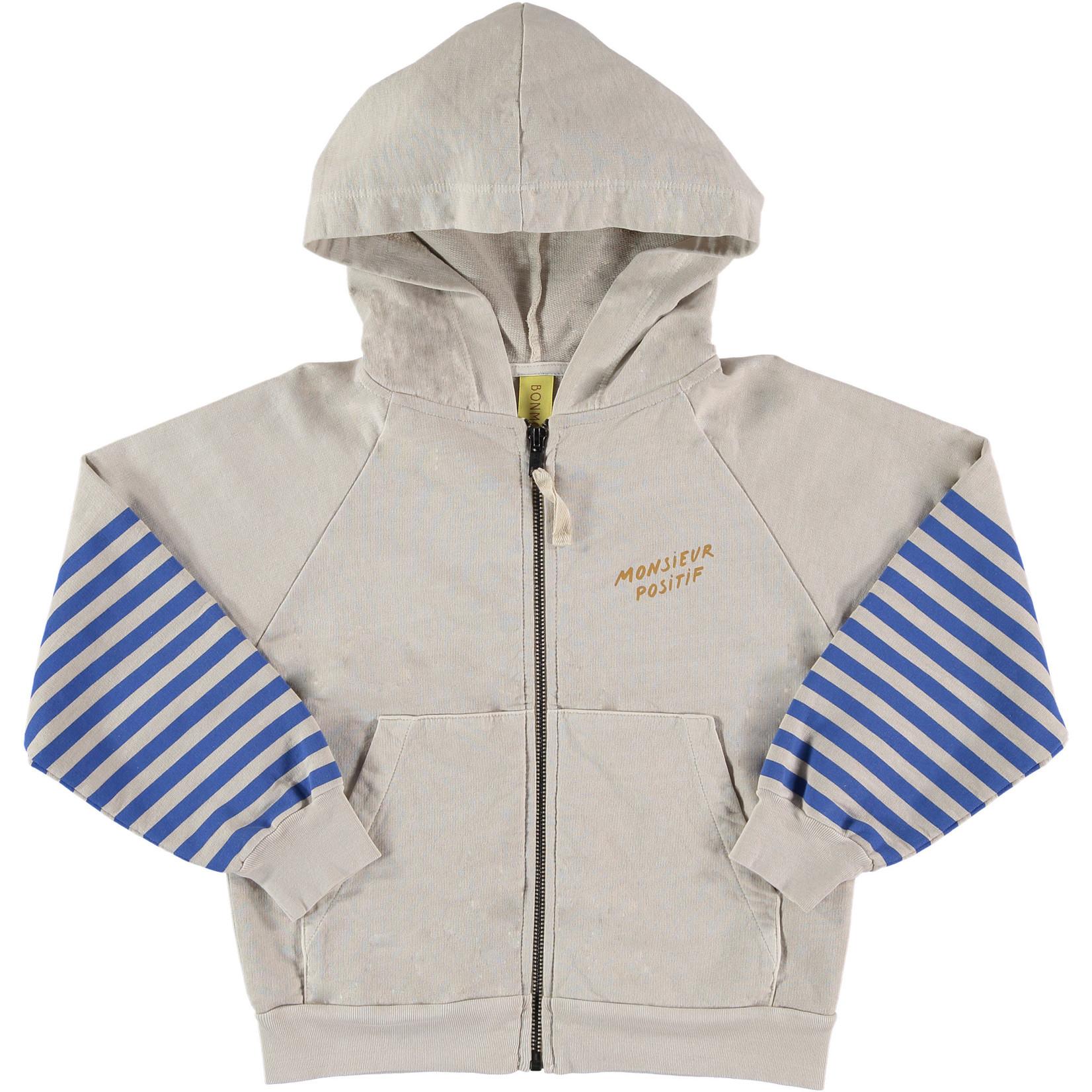 BONMOT BONMOT hoodie stripes