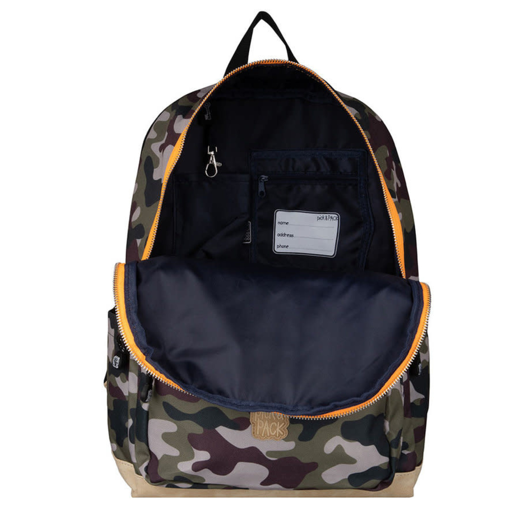 Pick&Pack Pick & Pack CAMO/orange