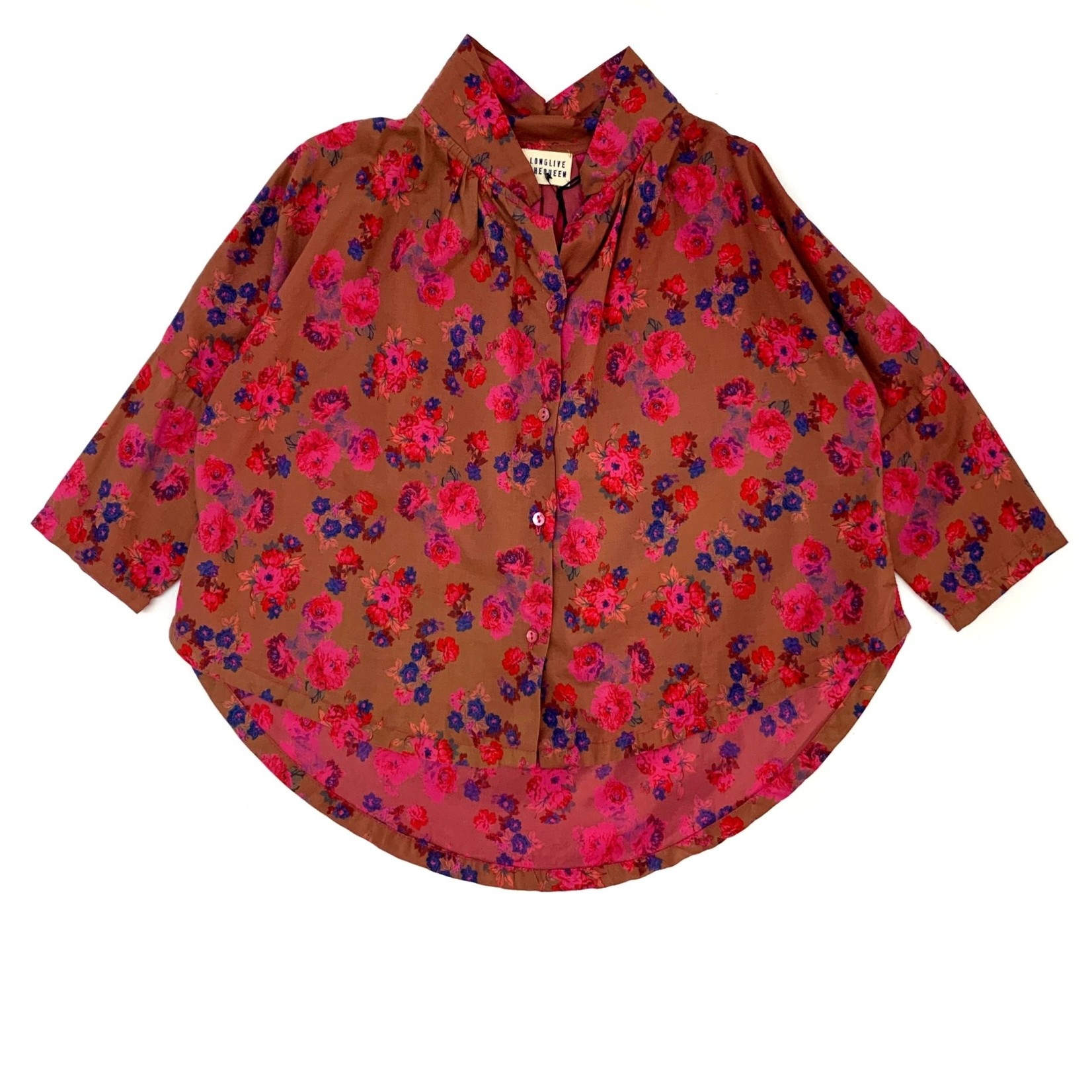 LONG LIVE THE QUEEN Long live the queen collar blouse
