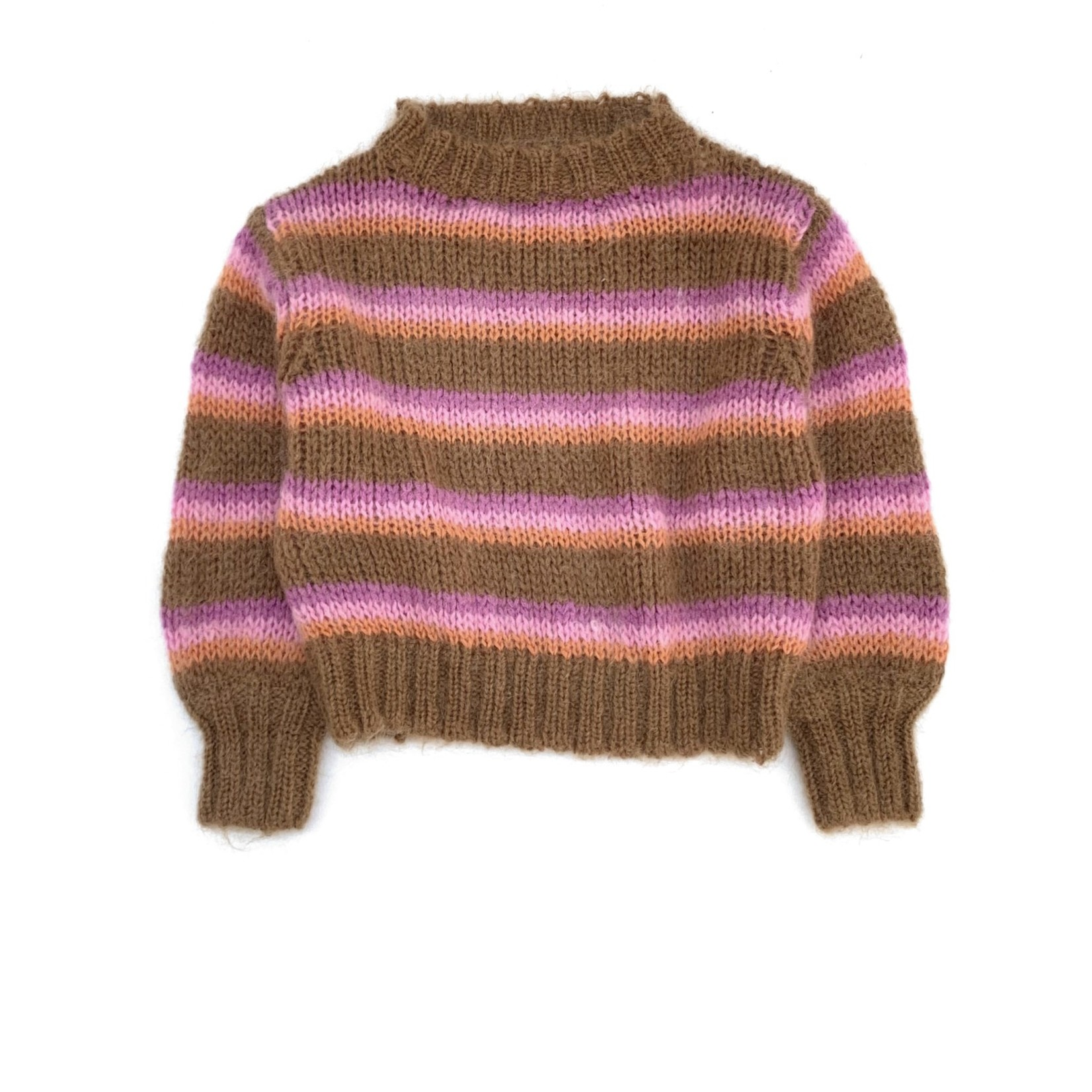 LONG LIVE THE QUEEN Long live the queen striped sweater
