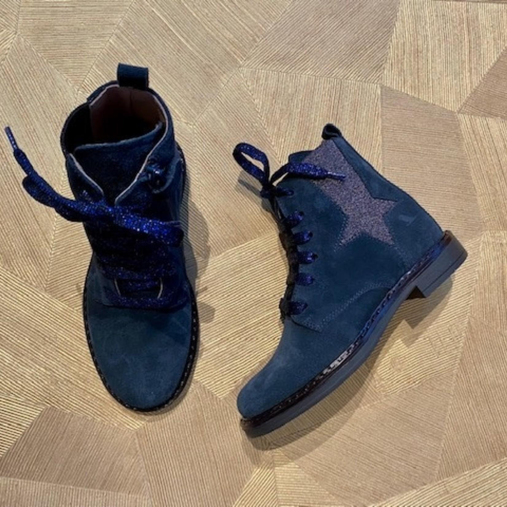 BANA & CO BANA & CO kist velour BLUE