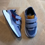 HIP HIP sneaker grijs/blauw klittenband