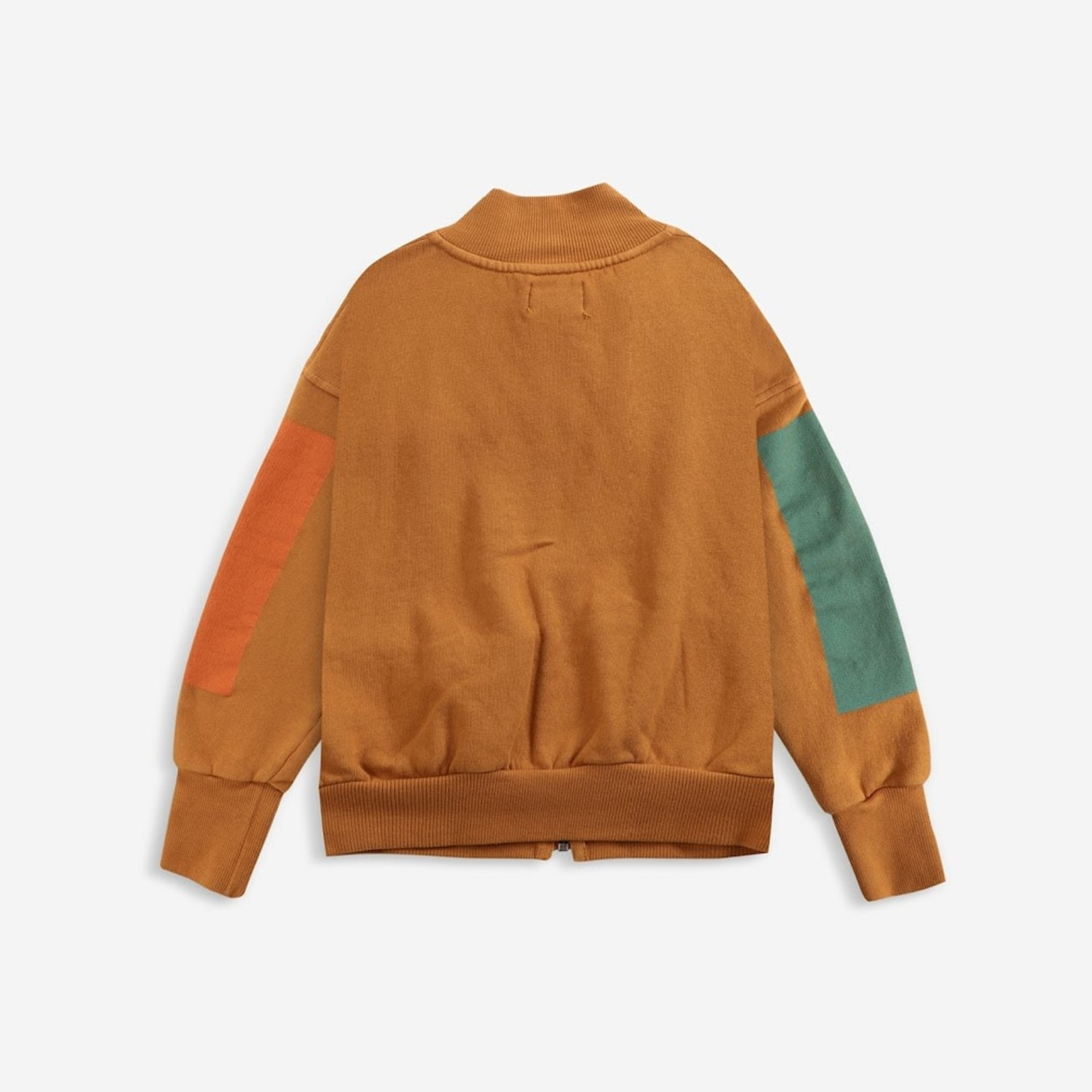 BOBO CHOSES BOBO CHOSES Geometric zipped sweatshirt