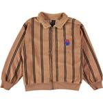 BONMOT BONMOT organic. Sweatshirt cardigan bistripe